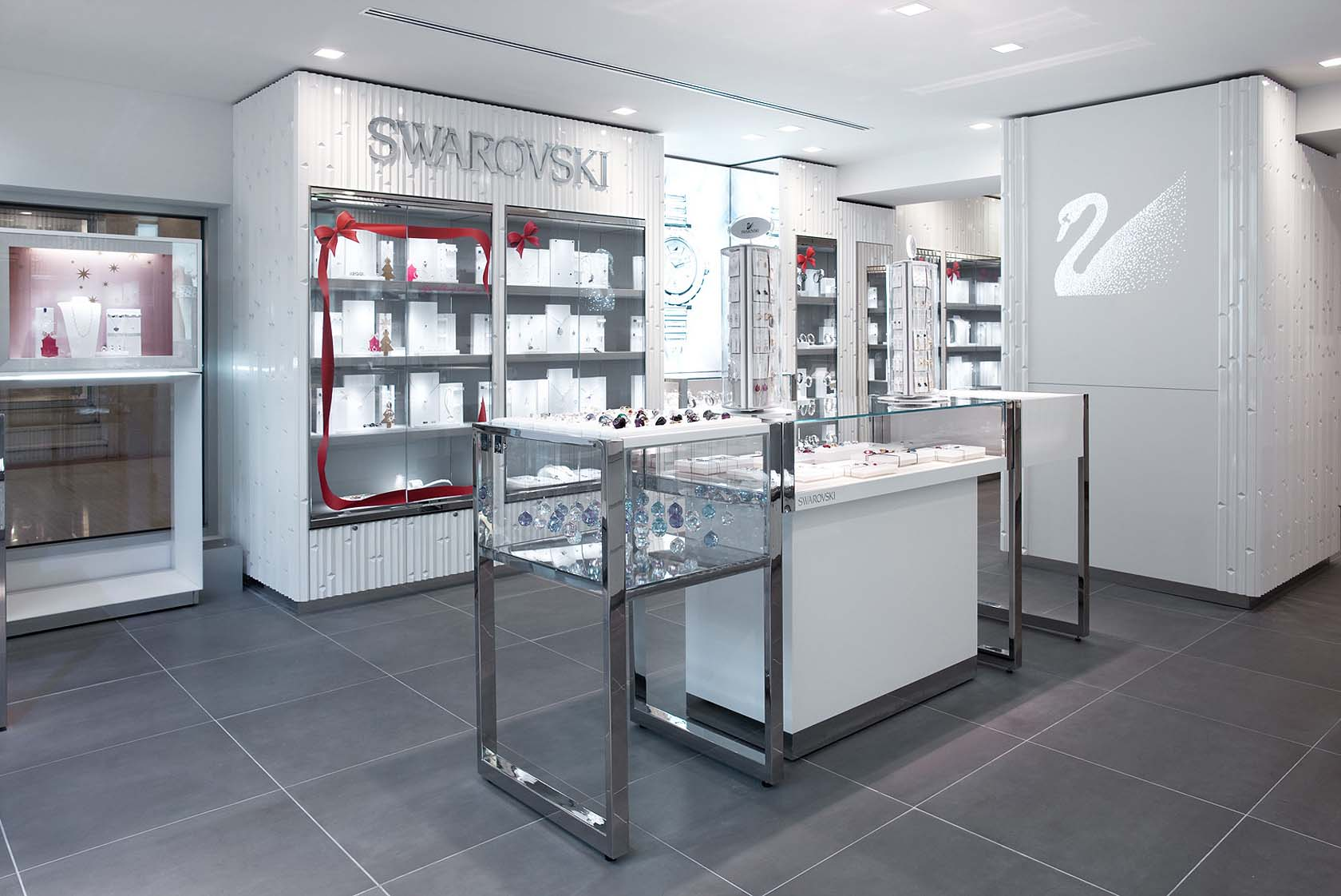 SWAROVSKI jewelry store at Champs-Elysées, Paris - SAM l MAU ...