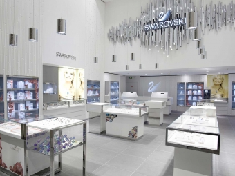 SWAROVSKI jewelry store at Carrousel du Louvre, Paris