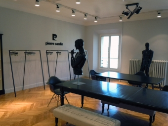 PIERRE CARDIN Showroom in Paris, rue Royale