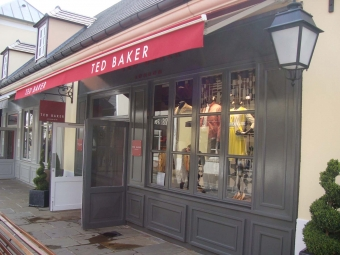 TED BAKER store at La Vallée Village / Val d'Europe