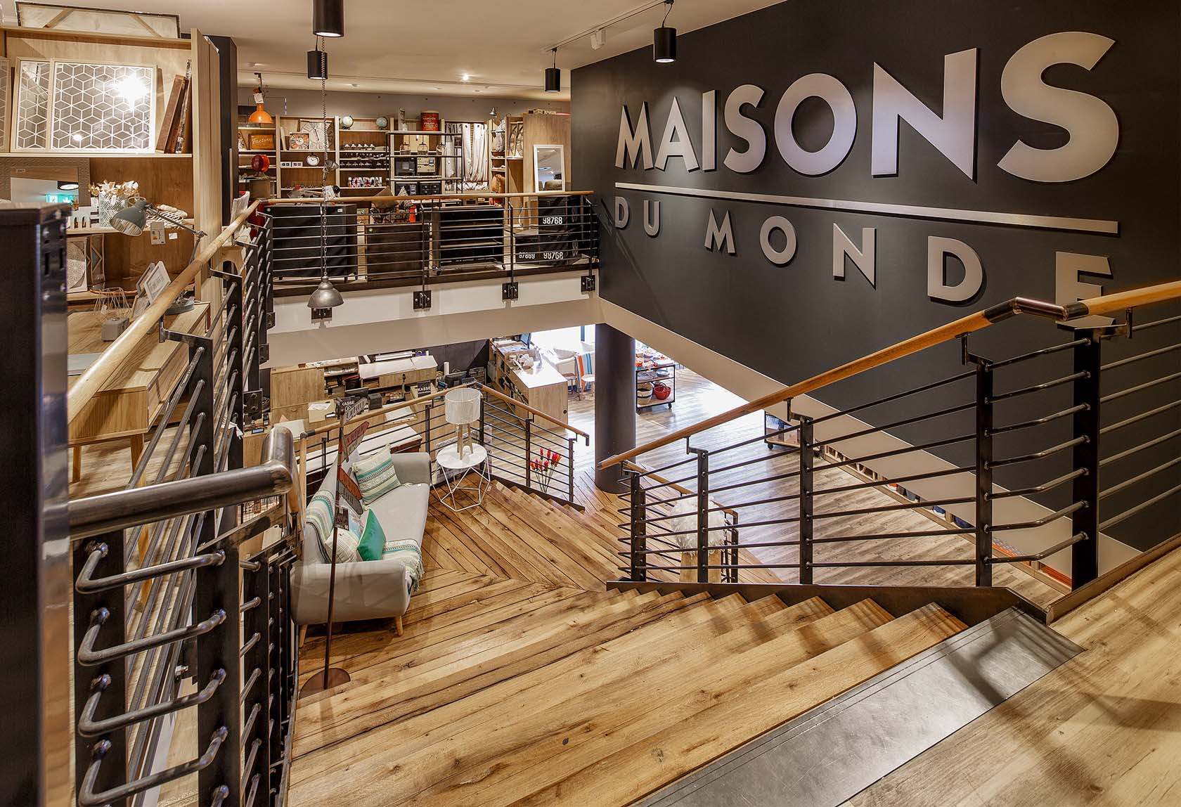 maisons du monde store in dortmund germany sam l mau architecture. Black Bedroom Furniture Sets. Home Design Ideas