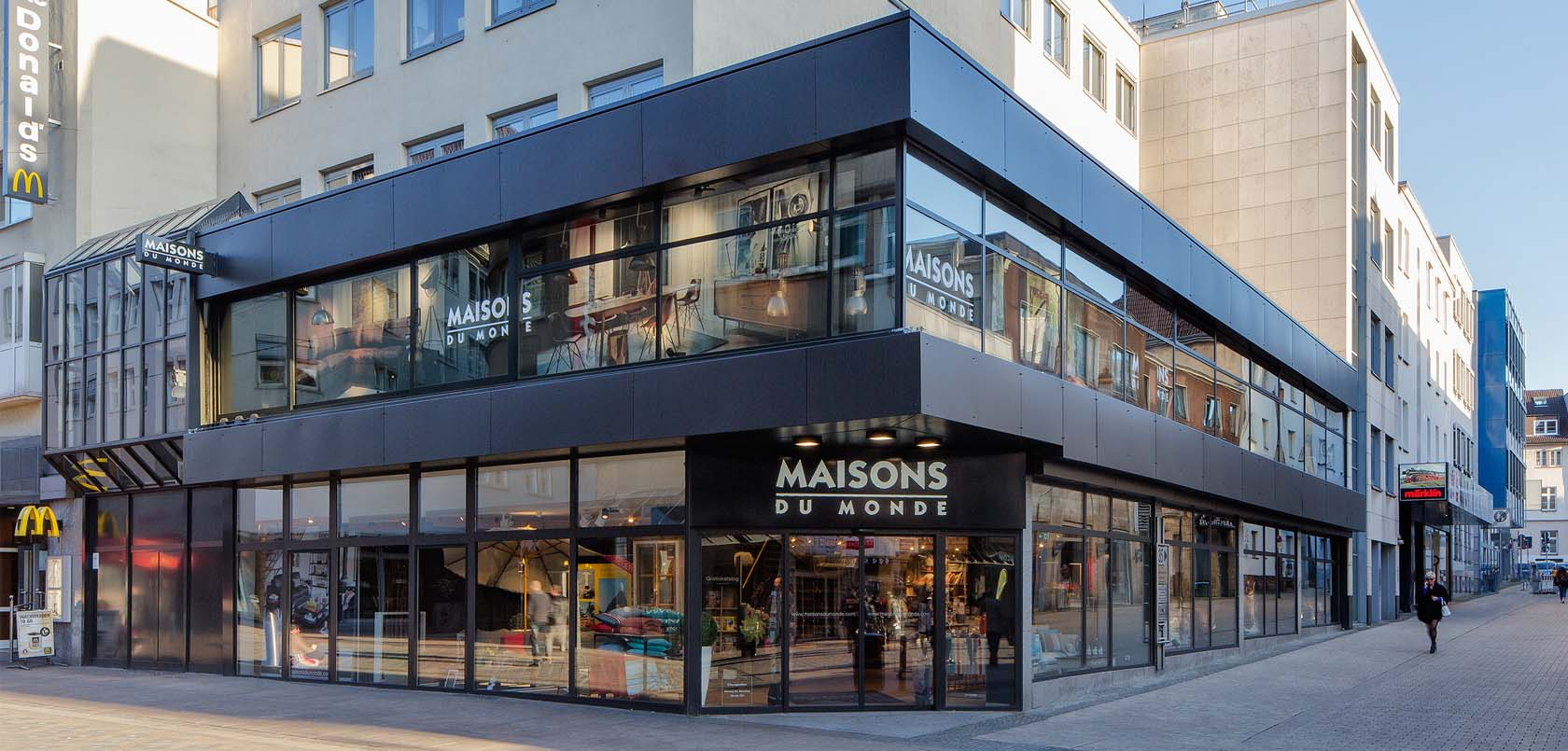 affordable maisons du monde store in dortmund germany with maison du monde logo. Black Bedroom Furniture Sets. Home Design Ideas