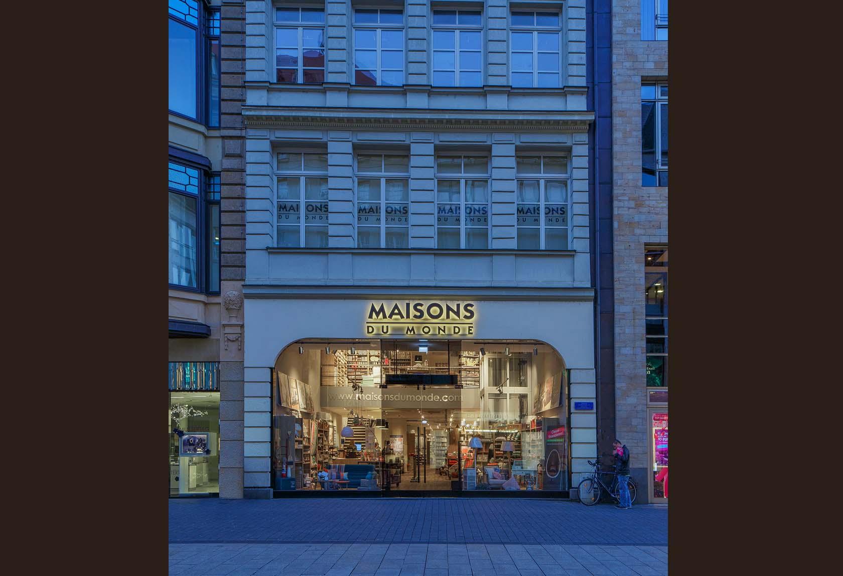 Maisons du monde store in leipzig germany sam l mau architecture