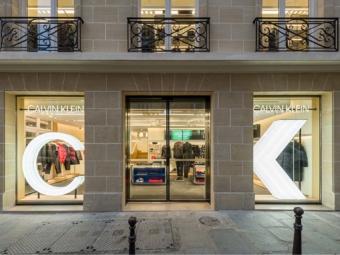 CALVIN KLEIN store in Paris, Le Marais